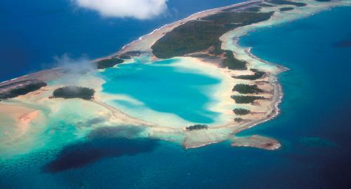 L'île aux récifs