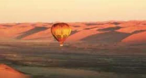 Survol en montgolfière