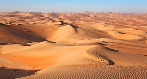 Dîner désert safari