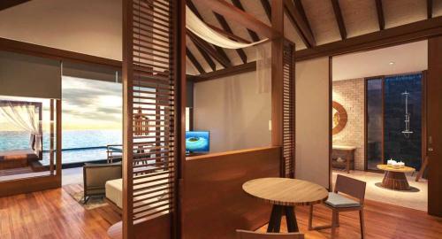 Furaveri Island Resort & Spa : Hébergement
