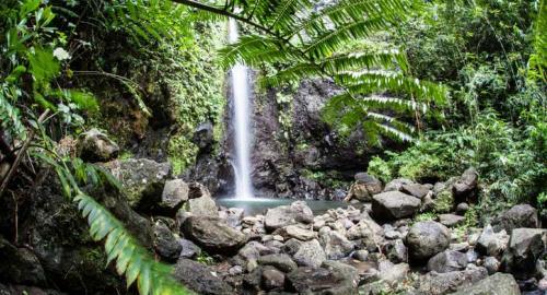 Les 3 cascades du domaine d'Hamoa