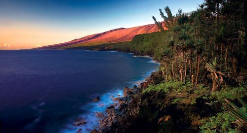 Le sud sauvage : entre mer et volcan