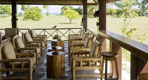 Bird Island Lodge : Restauration